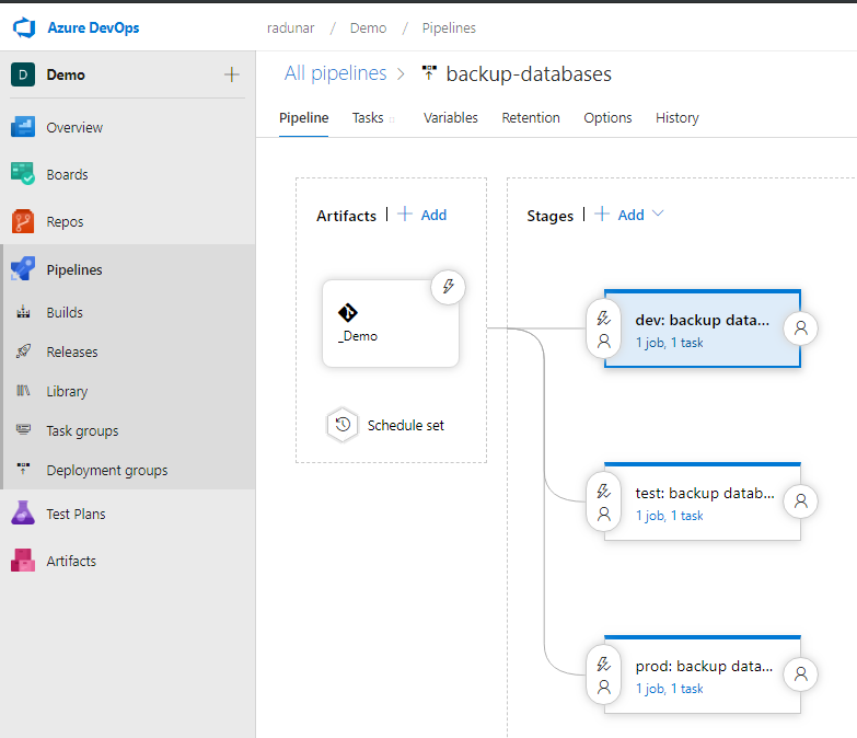 Azure DevOps: white list Azure Pipeline IP in Cosmos database firewall. How to add the Azure DevOps Hosted Agent IP address to a Cosmos database firewall.